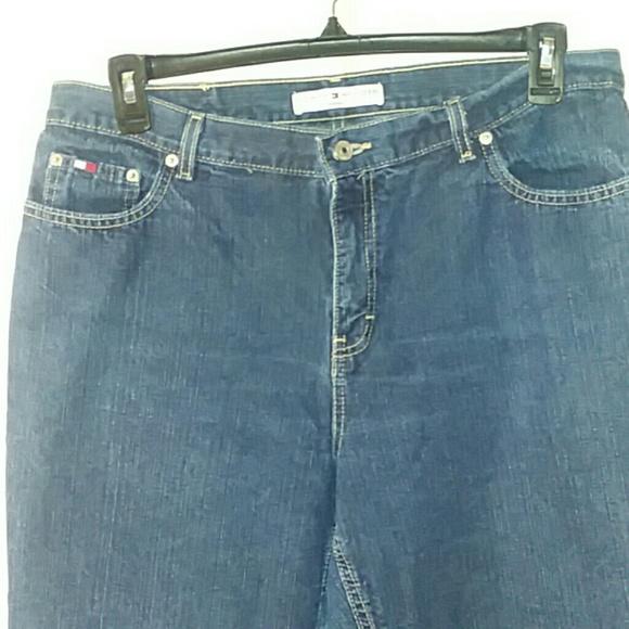 Tommy Hilfiger Denim - Tommy Hilfiger Wide Leg Womens Jeans Size 14